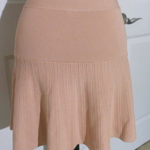 NEW FREE PEOPLE Stretch Knit Skater Skirt S $125